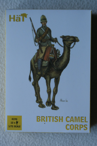 HaT 1/72 HAT8194 British Camel Corps (Colonial Wars)